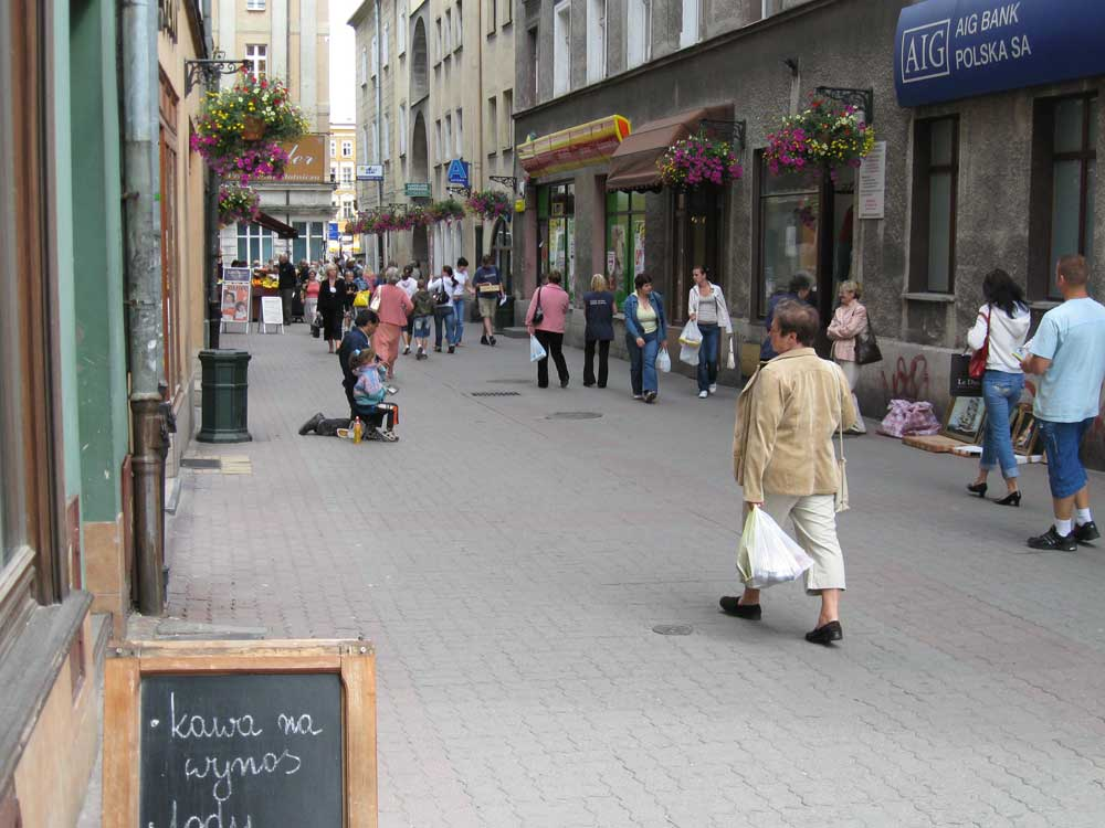 Begging in Poland