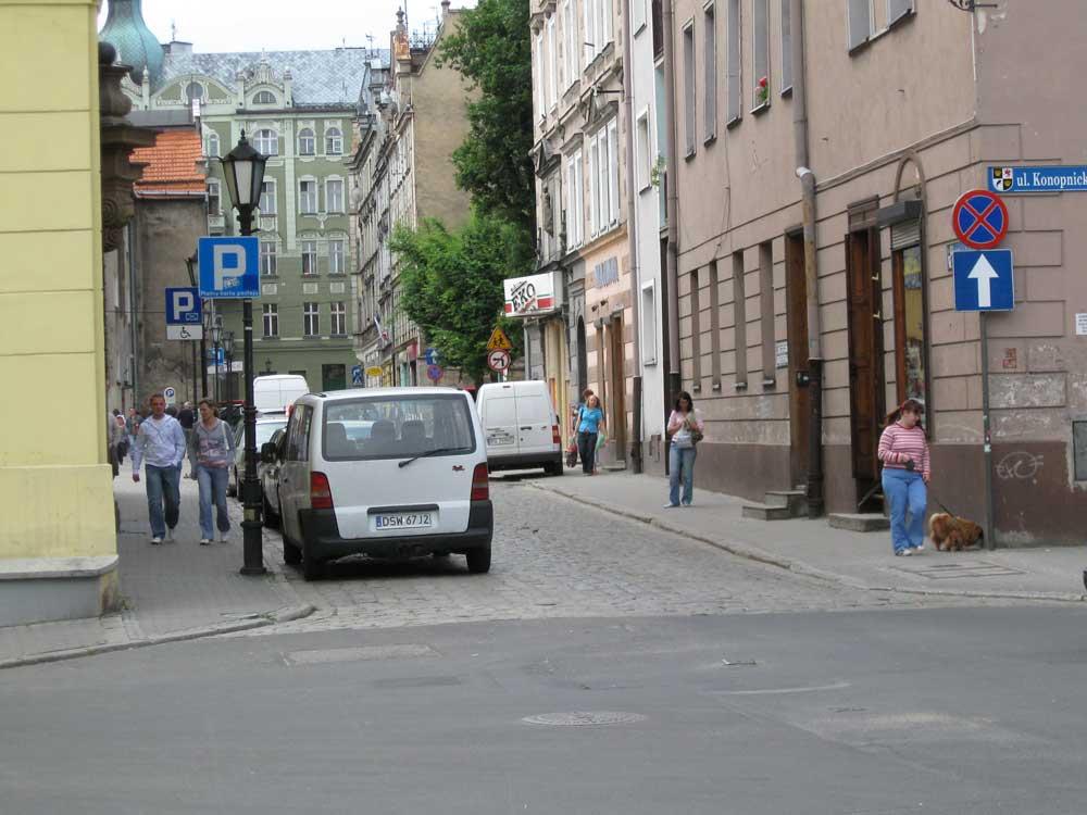 Entry to Rynek - Polish square market