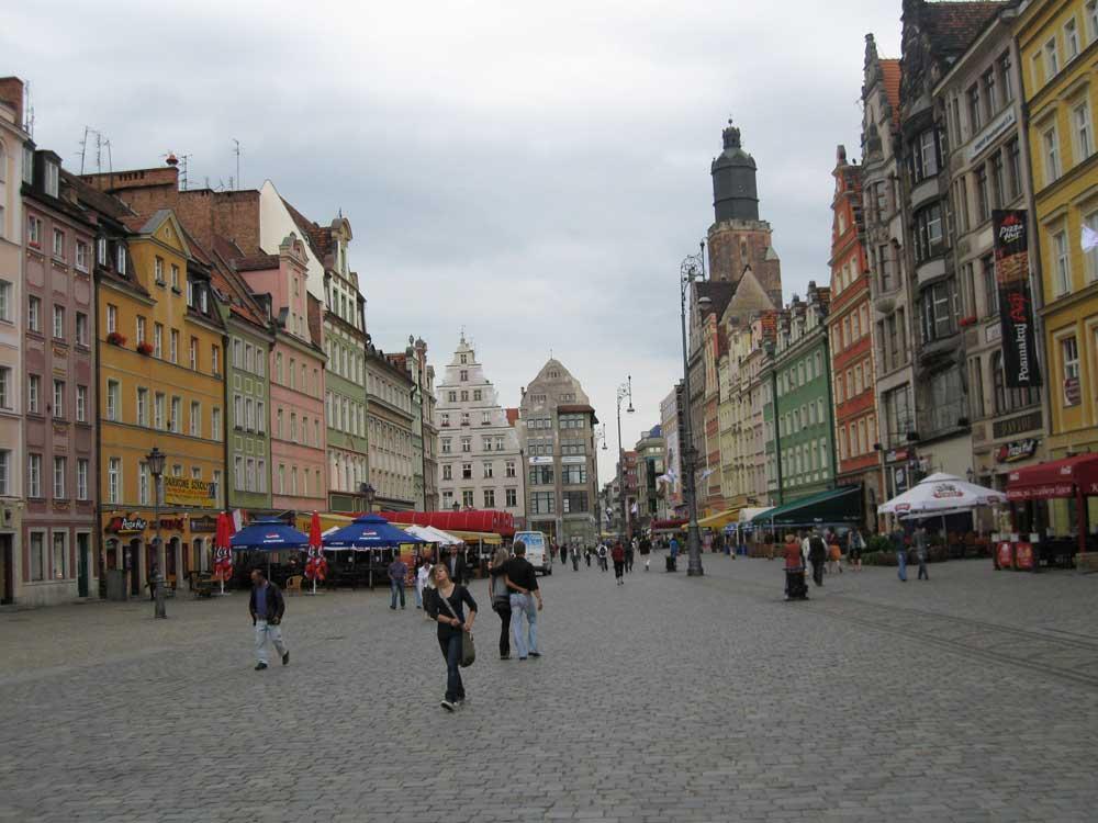 Rynek in Wroclaw