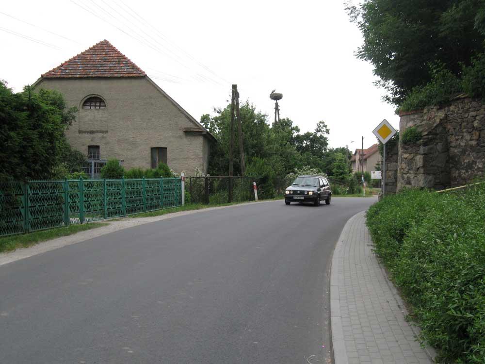Polish village view