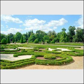 Branicki Palace's garden