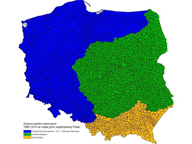 Heritage Of Partitions Still Present In Poland